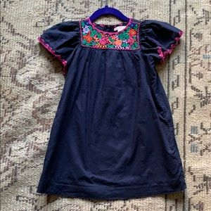 J.Crew Mexican style embroidered dress